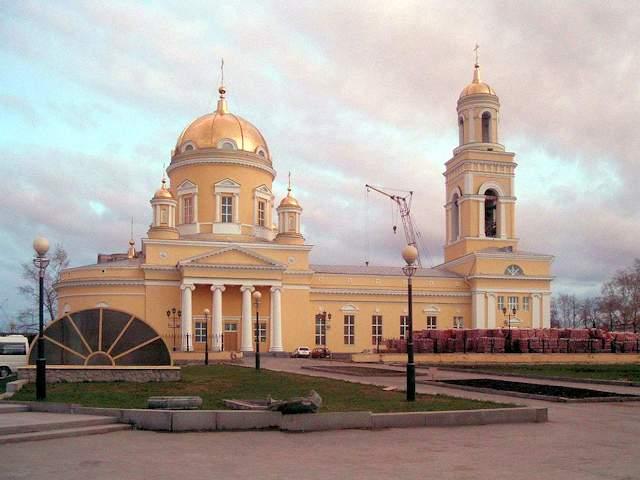 Heilige-Dreifaltigkeits-Kathedrale, Jekaterinburg