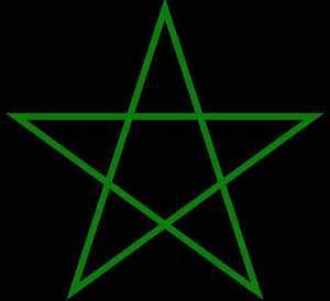 Pentagramm, magische Salz, Salz