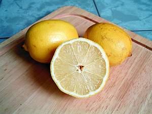 zitrone, Zitrone (Citrus × limon) – altes Hausmittel und Naturheilmittel