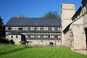 Jagdschloss Paulinzella, Kloster, Jagdschloss, Paulinzella, Thüringen