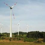 Windkrafträder, Windturbinen, Windkraftanlagen, Hessen